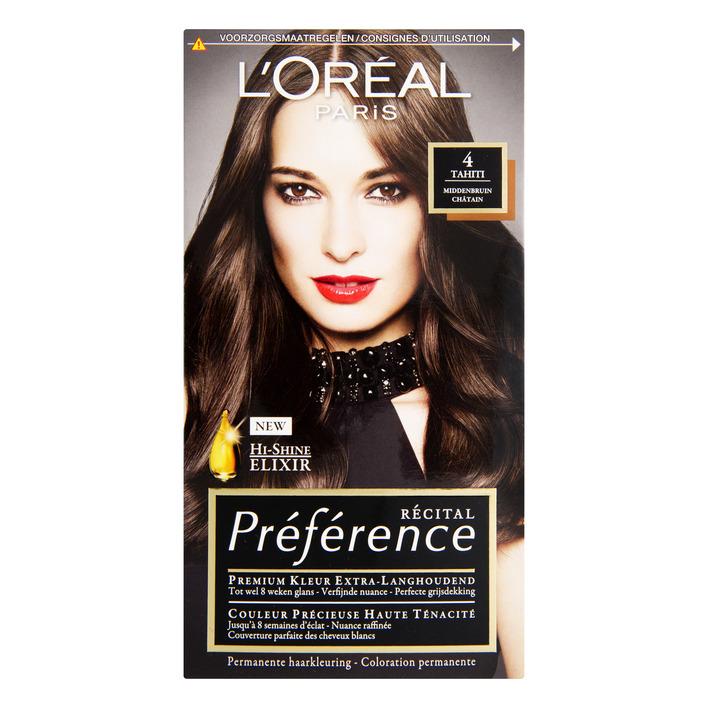 L'Oréal Préférence middenbruin 4