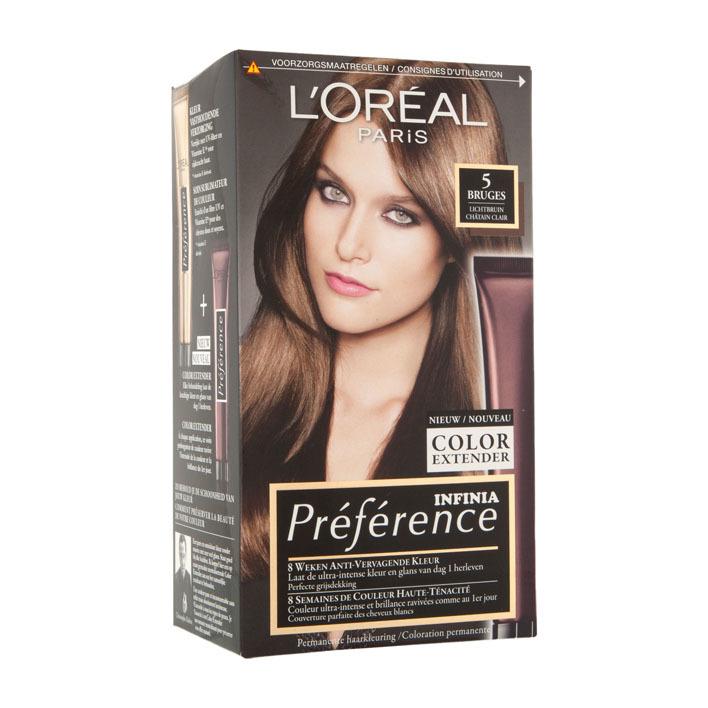L'Oréal Récital Préférence 5 lichtbruin