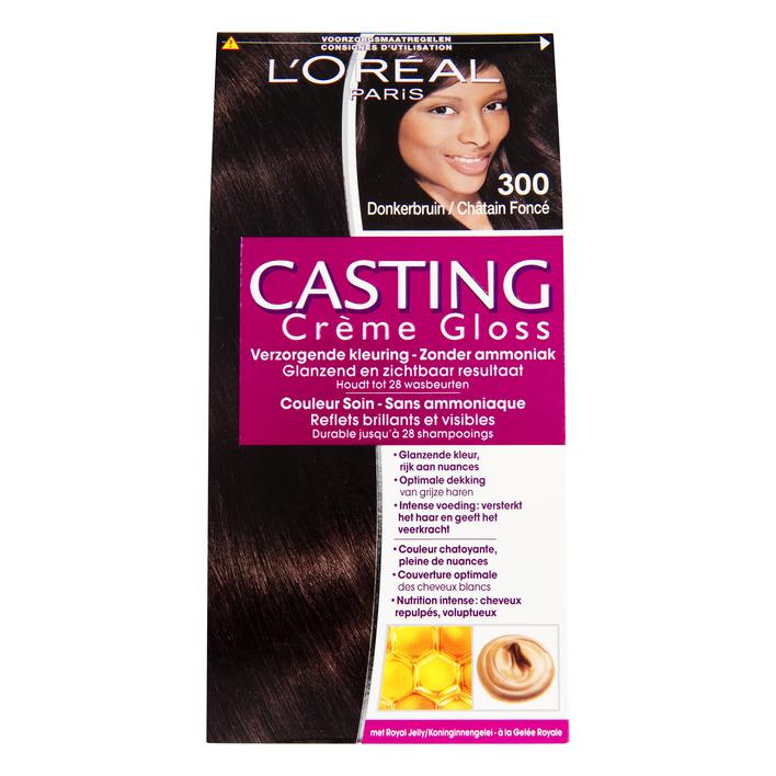 L'Oréal Casting crème gloss donkerbruin 300