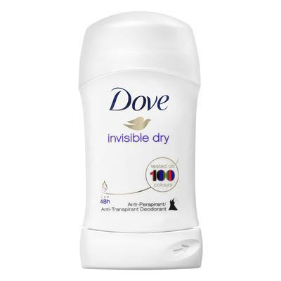 Dove Deodorant stick invisible dry