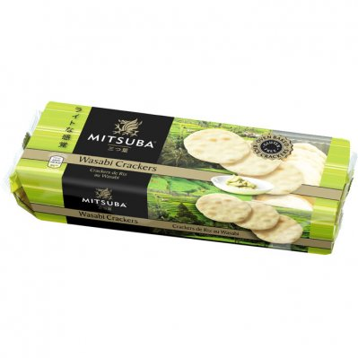 Mitsuba Wasabi crackers