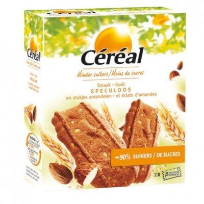 Cereal Speculaas met stukjes amandel