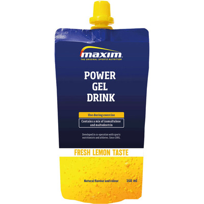 Maxim Long lasting energy drink lemon