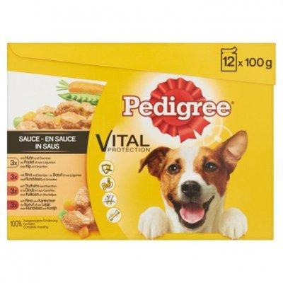Pedigree Hondenvoer nat vital protection in saus
