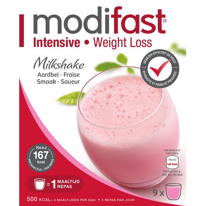 Modifast Milkshake aardbei