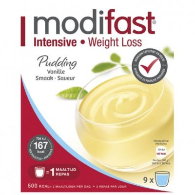 Modifast Pudding vanille