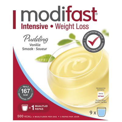 Modifast Pudding vanille