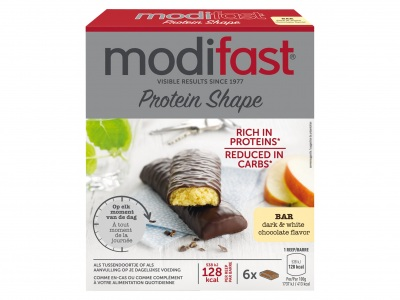 Modifast Protein Shape witte en pure chocolade