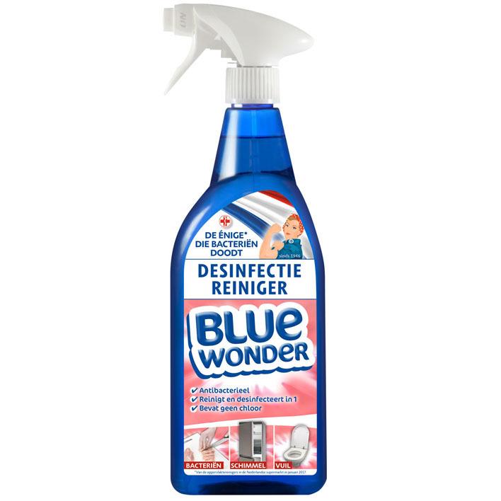 Blue Wonder Desinfectie reiniger spray
