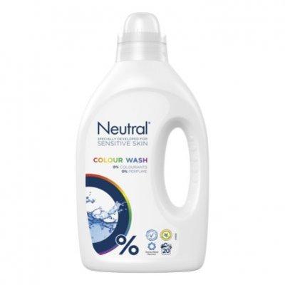 Neutral Kleur parfumvrij wasmiddel