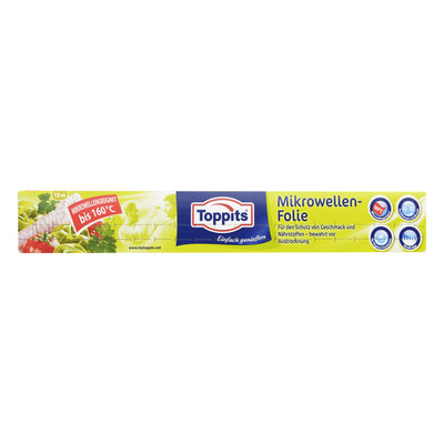 Toppits 2 in 1 plastic folie