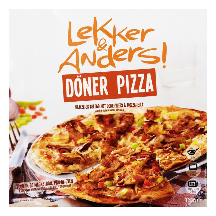Lekker & Anders Döner pizza