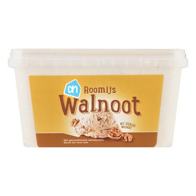 Huismerk Walnoot roomijs