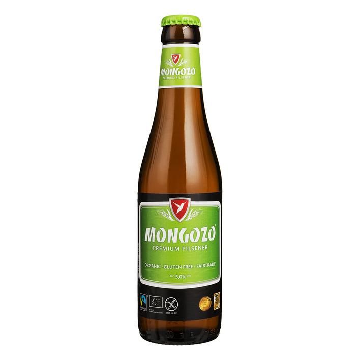Mongozo Premium pilsner glutenvrij