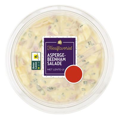 AH Asperge-beenham salade met lente-ui