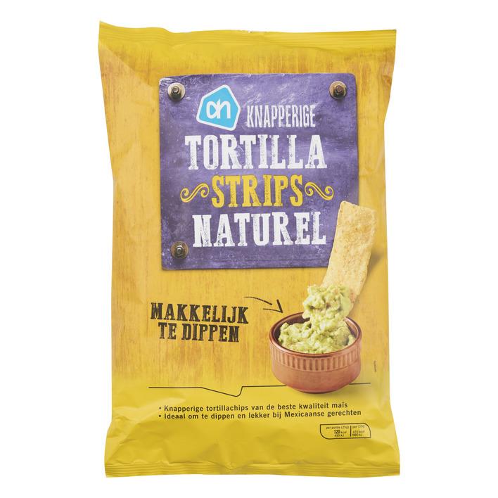 Huismerk Knapperige tortilla strips naturel