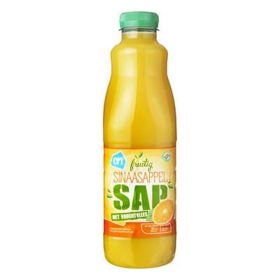 Huismerk Sinaasappelsap met vruchtvlees