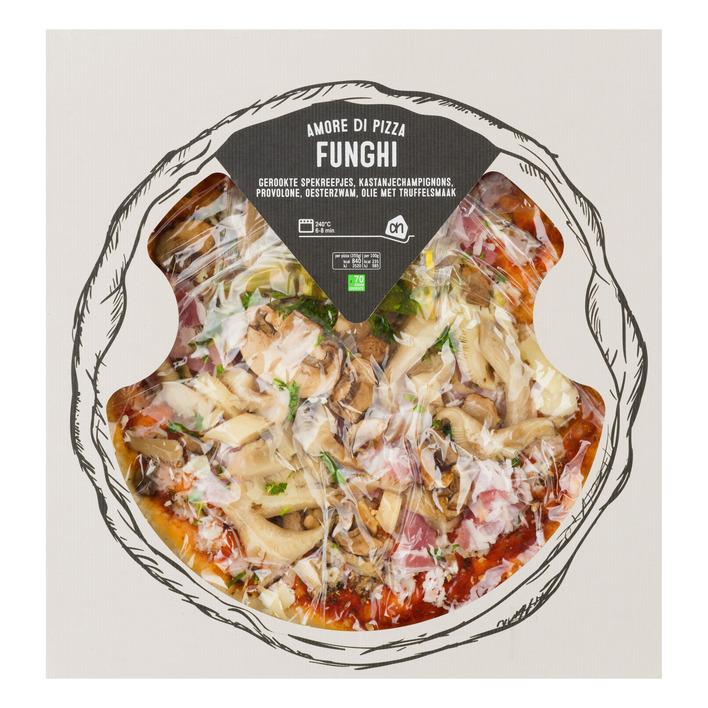 Huismerk Pizza funghi