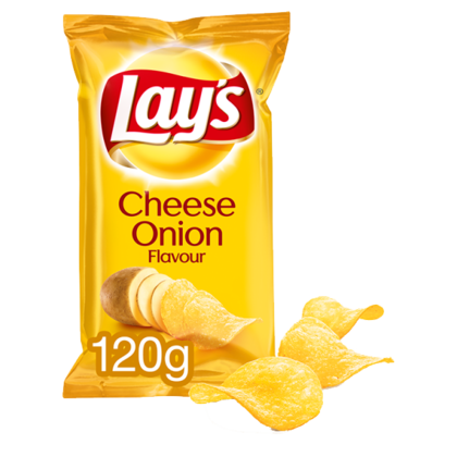 Lays Cheese Onion chips