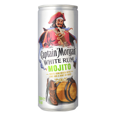Captain Morgan Witte rum mojito