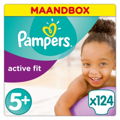 Pampers nr. 5+ active fit junior