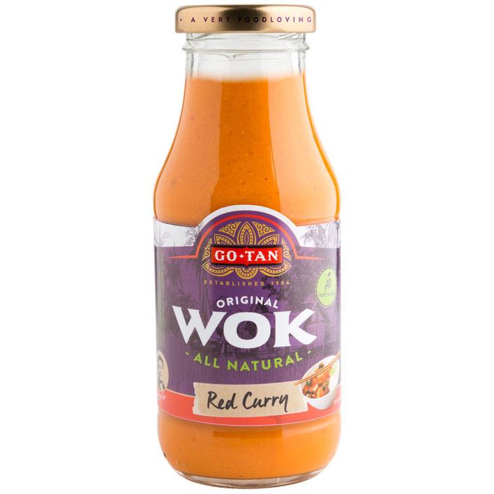Go-Tan Original wok red curry