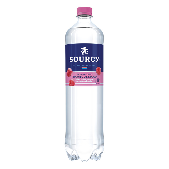 Sourcy Framboos koolzuurhoudend mineraal water