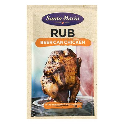 Santa Maria Rub beer can chicken