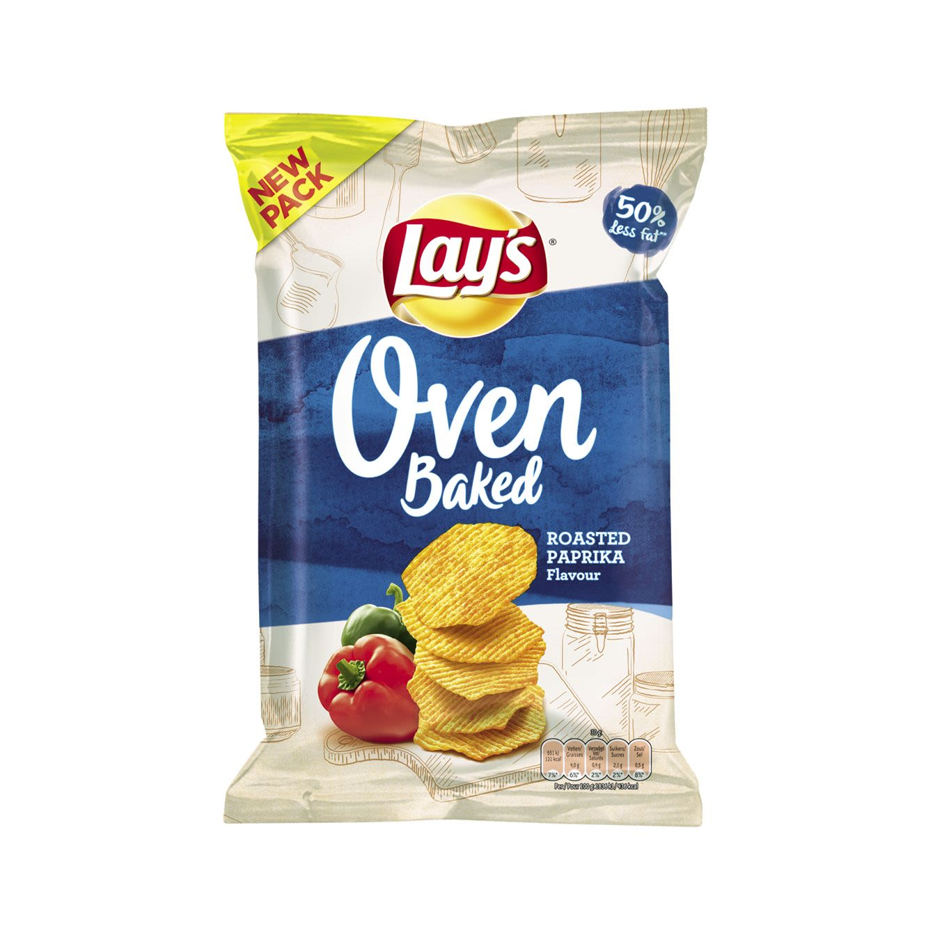 Lay's Oven Baked Roasted Paprika Chips