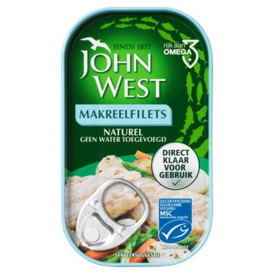 John West Makreelfilets naturel MSC