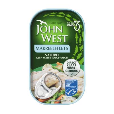 John West Makreelfilet naturel MSC