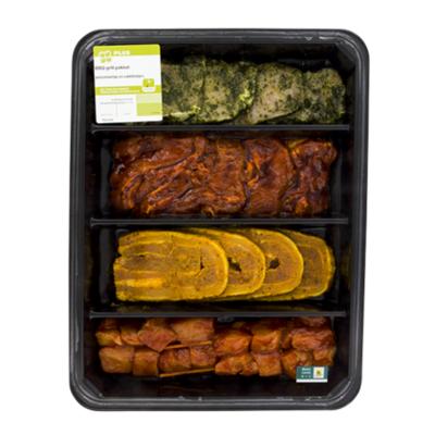Huismerk BBQ grillschotel 4 personen