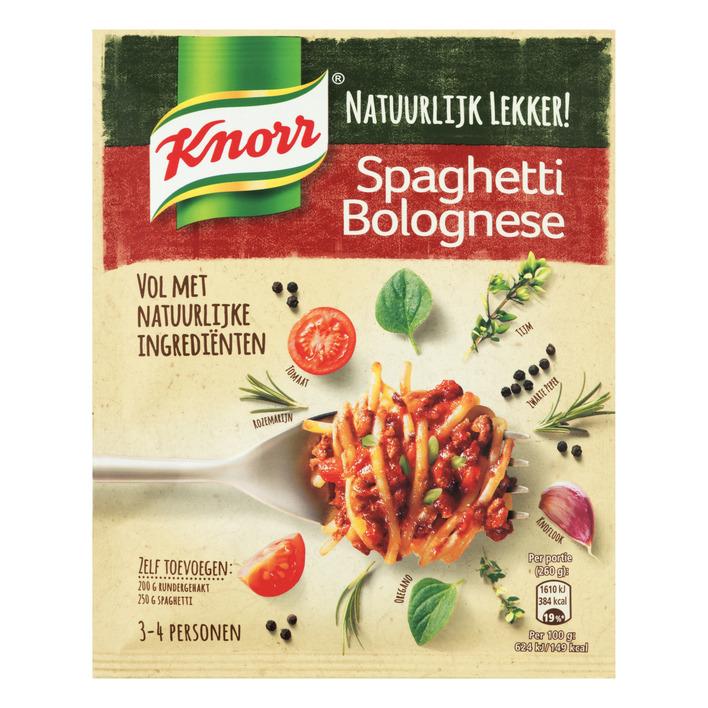 Knorr Natuurlijk spaghetti bolognese