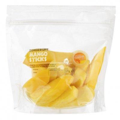 Huismerk Zongerijpte mango sticks