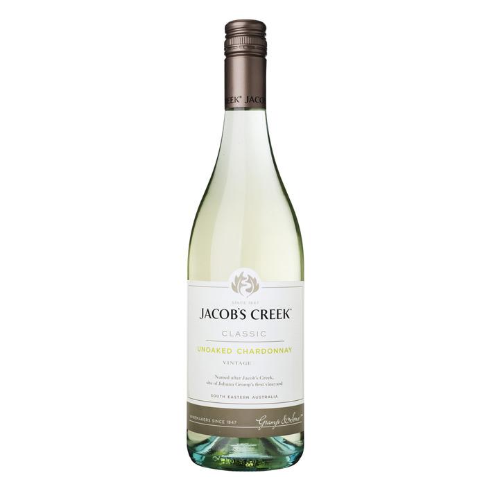 Jacob's Creek Unoaked Chardonnay
