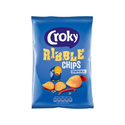 Croky Ribble Chips Paprika