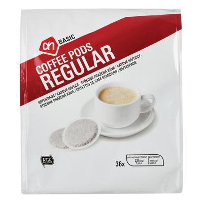 Budget Huismerk Koffiepads regular