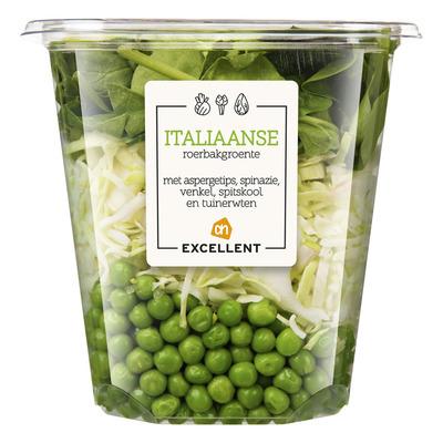 Huismerk Italiaanse roerbakgroente aspergetips