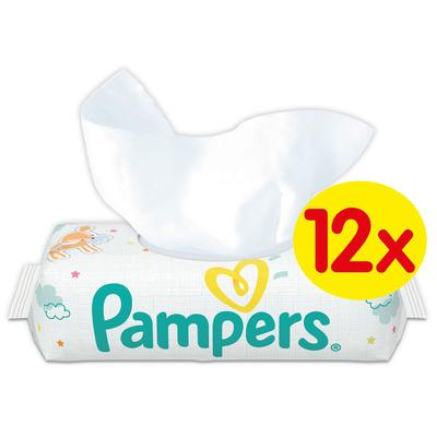 Pampers Babydoekjes sensitive 12-pak