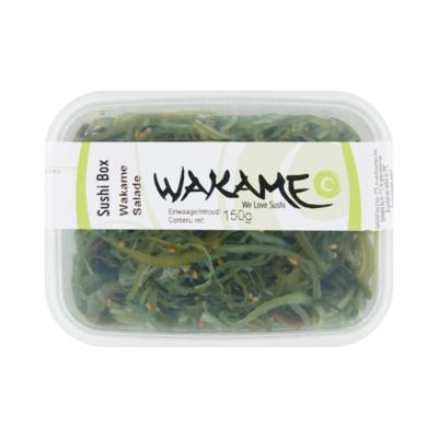 Wakame Sushi Box Wakame Salade