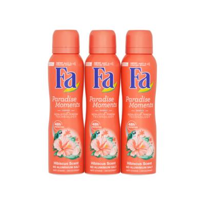 Fa Paradise Moments Hibiscus Scent Deodorant Mega Voordeel