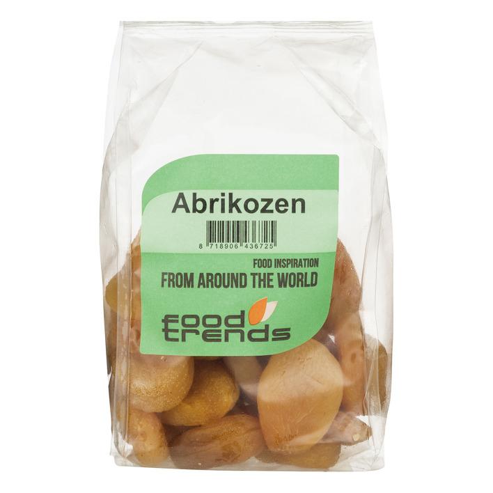 Food Trend Gewelde gedroogde abrikozen