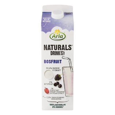 Arla Naturals drink bosfruit 0% vet