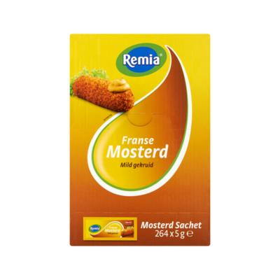 Remia Franse Mosterd Mild Gekruid