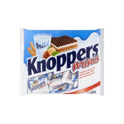 Knoppers Minis Gevulde Wafels