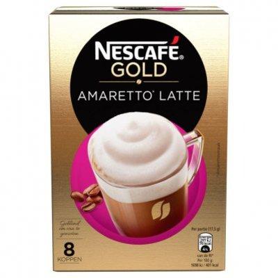 Nescafé Gold amaretto latte oploskoffie