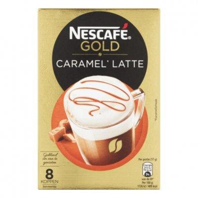 Nescafé Gold caramel latte oploskoffie