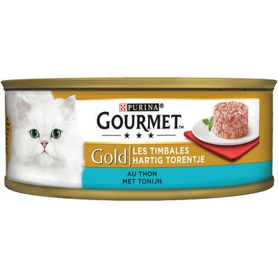 Gourmet Gold hartig torentje met tonijn