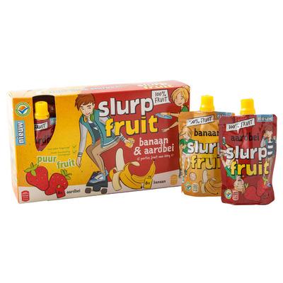 Servero Slurpfruit banaan-aardbei