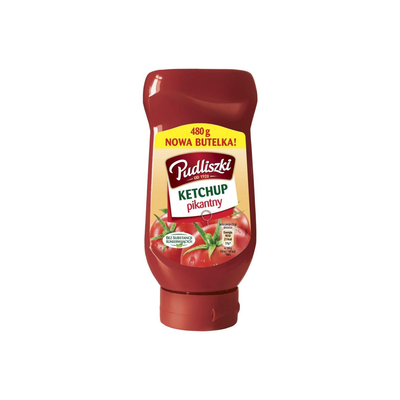 Pudliszki Ketchup Pikant